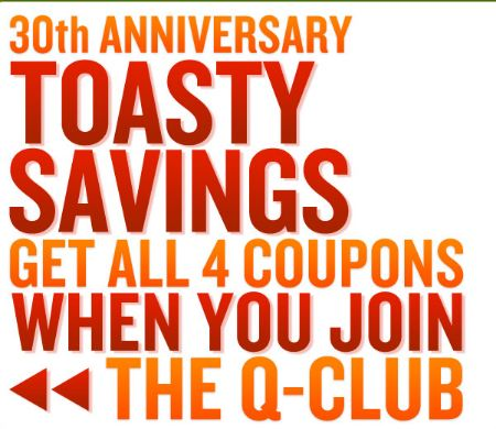 Quiznos Q Club :: Extra Coupons Emailed to You & Birthday ...