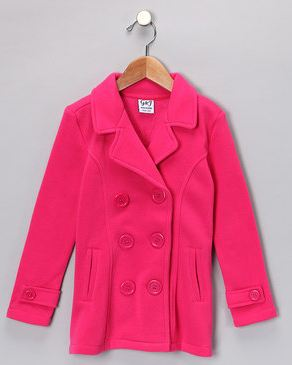 Toddler & Girls Peacoat Jackets as low as $14.99! & MORE!