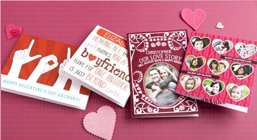 Tiny Prints Personalized Valentines Day Card Sale only 99 Each – Valentines Cards Personalized