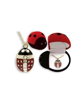 Ladybug Necklace