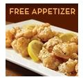 Free Appetizer at Olive Garden