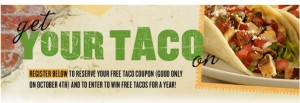 Free taco