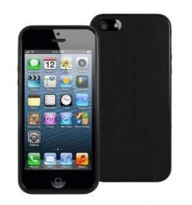 MiniSuit Frost Matte TPU Case for Apple iPhone 5 (AT&amp;T, Verizon, Sprint and Unlocked Models) - Professional Black