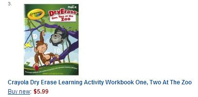 Crayola Dry Erase Learning Activity Books Set Of 6 Only