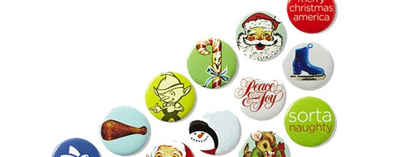 Free Christmas Buttons