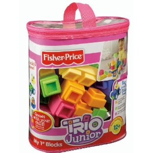 Fisher-Price TRIO Junior My First Blocks - Pastel Colors