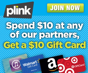 Plink gift card promo