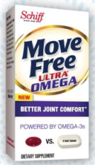 Free sample of Schiff Move Free ultra mega