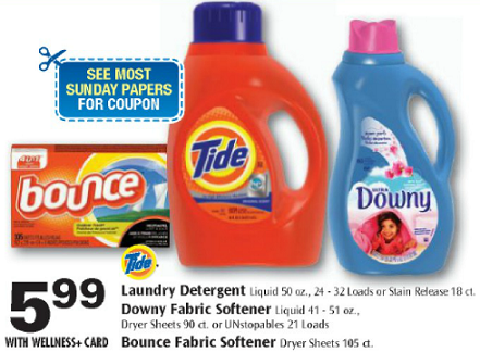 Tide Detergent Deal