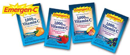 Free sample of Emergen-c