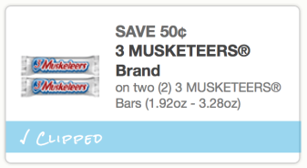 Three Musketeers coupon